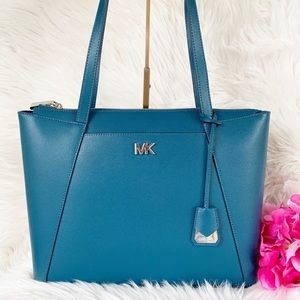 Michael Kors MD Leather Tz Tote🌸
